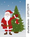 santa claus   Shutterstock .eps vector #119712979