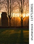 Knaresborough Castle Sunset