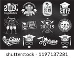 set of vector class of 2019... | Shutterstock .eps vector #1197137281