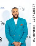 Small photo of Jidenna attends 2018 Geanco Foundation Hollywood Gala at Spectra, Pacific Design Center, Los Angeles, California on October 6th, 2018