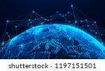global network concept. world...   Shutterstock . vector #1197151501