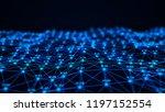 big data visualization.... | Shutterstock . vector #1197152554