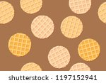 seamless pattern of the... | Shutterstock .eps vector #1197152941