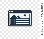 website vector icon isolated on ...