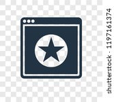 ranking vector icon isolated on ...   Shutterstock .eps vector #1197161374
