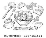 vector illustration of... | Shutterstock .eps vector #1197161611