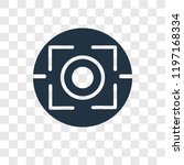 focus vector icon isolated on...   Shutterstock .eps vector #1197168334
