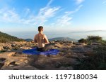 white man without shirt... | Shutterstock . vector #1197180034
