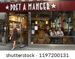 new york  usa   may 26  2018 ...   Shutterstock . vector #1197200131