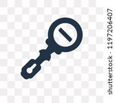 zoom out vector icon isolated... | Shutterstock .eps vector #1197206407