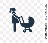 motherhood vector icon isolated ... | Shutterstock .eps vector #1197216607