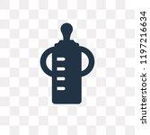feeding bottle vector icon...   Shutterstock .eps vector #1197216634