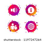 information sign. group of... | Shutterstock .eps vector #1197247264