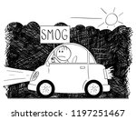 cartoon stick man drawing of...   Shutterstock .eps vector #1197251467
