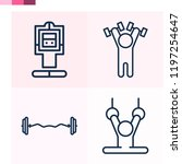 contains such icons as... | Shutterstock .eps vector #1197254647