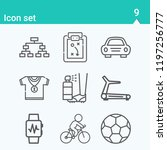 contains such icons as plan ... | Shutterstock .eps vector #1197256777