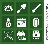 tool filled set of vector icons ...   Shutterstock .eps vector #1197257857