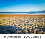 a gorgeous photo of the sunrise ... | Shutterstock . vector #1197268591