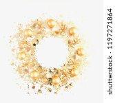 christmas composition.... | Shutterstock . vector #1197271864