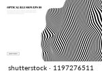 optical illusion lines... | Shutterstock .eps vector #1197276511