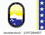 flag of alameda county is a... | Shutterstock .eps vector #1197284407