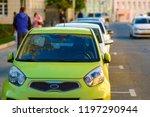 moscow  russia   october  6 ... | Shutterstock . vector #1197290944
