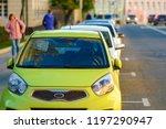moscow  russia   october  6 ... | Shutterstock . vector #1197290947