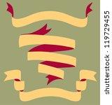 banner scrolls | Shutterstock .eps vector #119729455