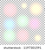 set of lights effects isolated... | Shutterstock .eps vector #1197301591