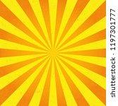 sun rays. vector | Shutterstock .eps vector #1197301777