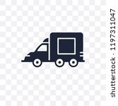 lorry transparent icon. lorry... | Shutterstock .eps vector #1197311047
