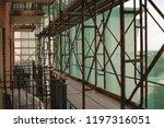 construction catwalk for...   Shutterstock . vector #1197316051