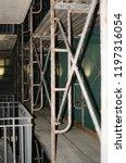 construction catwalk for...   Shutterstock . vector #1197316054