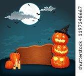 vector background  sign  poster ... | Shutterstock .eps vector #1197348667