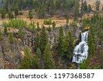 Undine Falls In Yellowstone Np...
