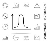 financial chart line icon.... | Shutterstock .eps vector #1197386671