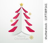 christmas balls background... | Shutterstock .eps vector #1197389161