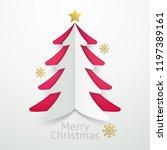 christmas balls background... | Shutterstock .eps vector #1197389161
