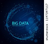 big data information sorting...   Shutterstock .eps vector #1197397117