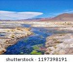bolivia  salar de uyuni  aguas...   Shutterstock . vector #1197398191
