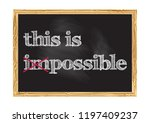 this is possible concept... | Shutterstock .eps vector #1197409237