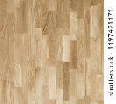 fragment of parquet floor.  | Shutterstock . vector #1197421171