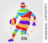 Dribble Action Splash Basketball