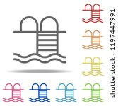 bathing place icon. elements of ...   Shutterstock .eps vector #1197447991