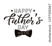 vector illustration father's... | Shutterstock .eps vector #1197450367