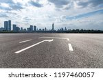 panoramic skyline and modern... | Shutterstock . vector #1197460057