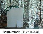 shopper woman hand shopping... | Shutterstock . vector #1197462001