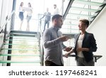 group of business people... | Shutterstock . vector #1197468241