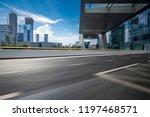 panoramic skyline and modern... | Shutterstock . vector #1197468571