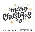 merry christmas web banner ...   Shutterstock .eps vector #1197479194
